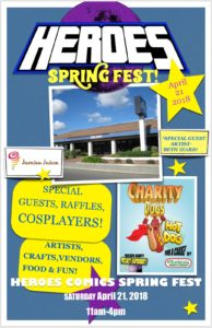 Spring Fest @ Heroes Comics @ Heroes Comics | Fresno | California | United States
